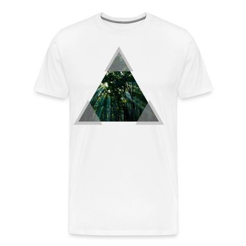 Triangle Forest window - Men's Premium T-Shirt