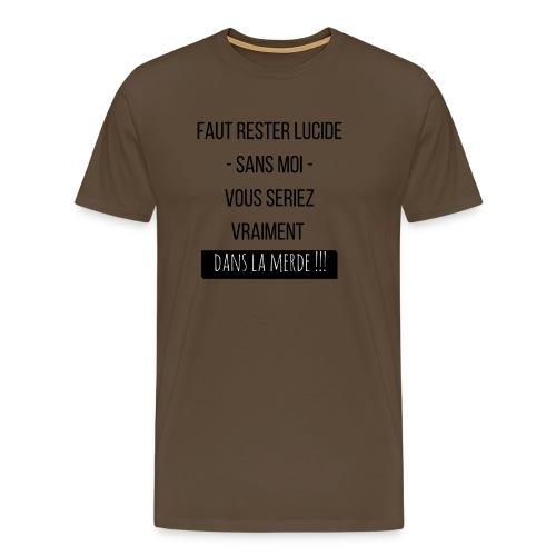 Je suis indispensable !!! - T-shirt Premium Homme