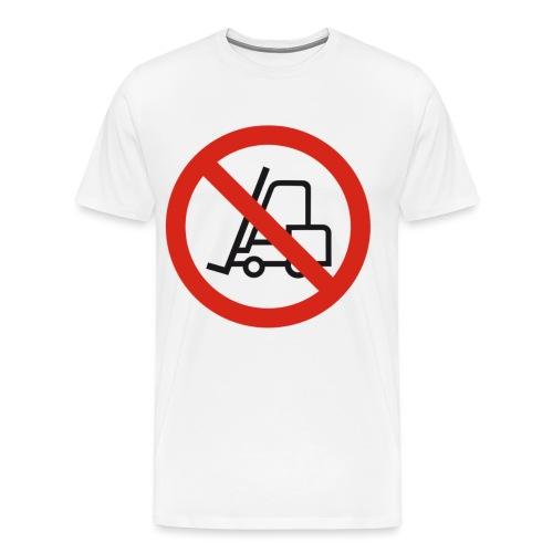 Stapler Crew Stagehand - Männer Premium T-Shirt