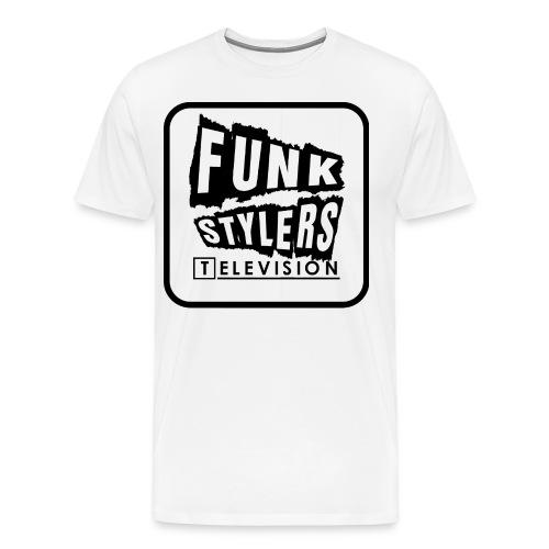 Bordered Plain - Men's Premium T-Shirt