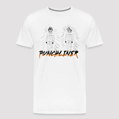 Goku And Vegeta png - T-shirt Premium Homme