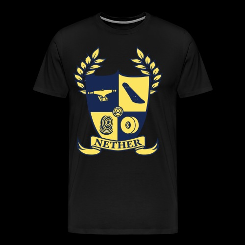 Nether College T-Shirt - Maglietta Premium da uomo