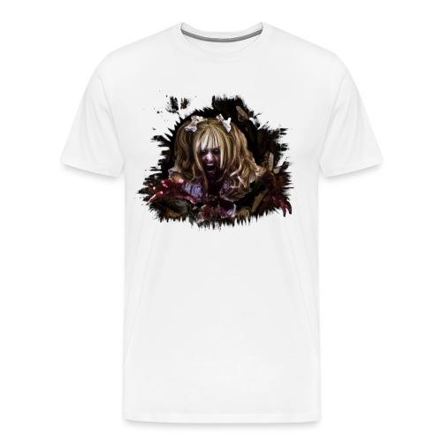 Zombie Mia - Männer Premium T-Shirt