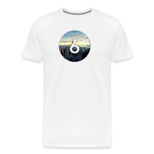 6 city - T-shirt Premium Homme