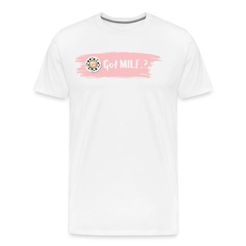Got MILF Milfcafe Shirt Mama Muttertag - Männer Premium T-Shirt