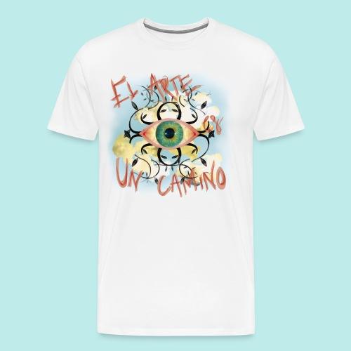 El Arte es un camino - Camiseta premium hombre