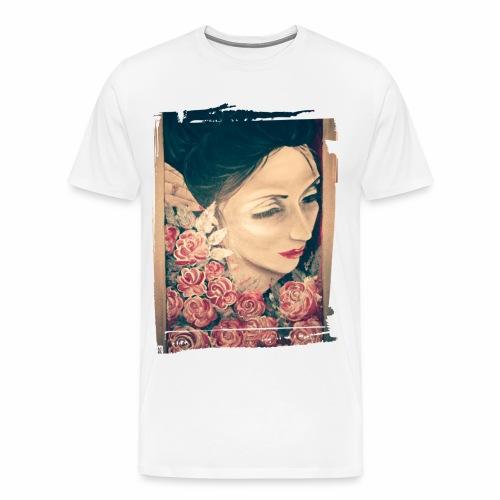 Lady Rose, - Maglietta Premium da uomo