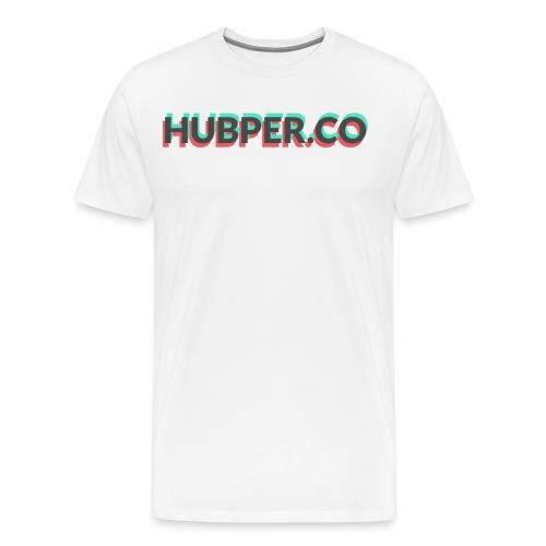 Hubper.co Overprinted    core colors - Mannen Premium T-shirt