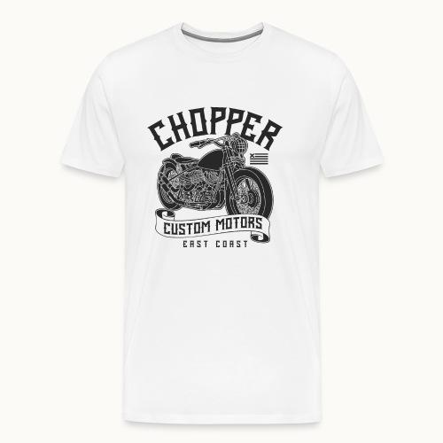 Coole Motorrad Biker Sprüche Geschenk - Männer Premium T-Shirt