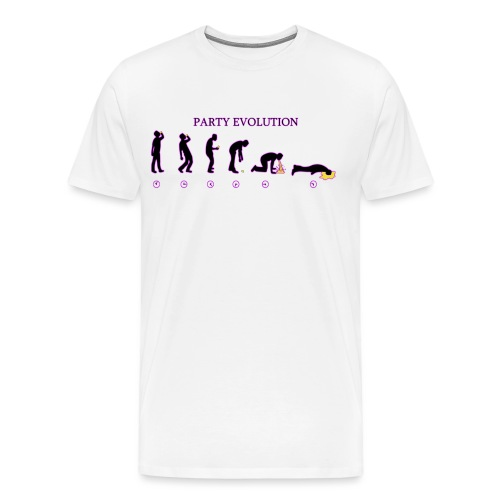 Party évolution - T-shirt Premium Homme