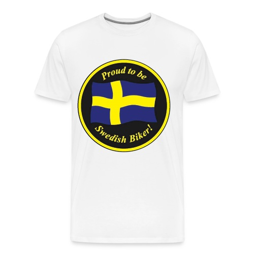 Stor proud - Premium-T-shirt herr