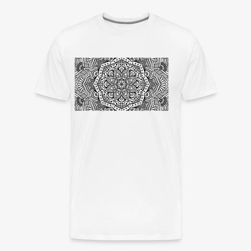 mandala1 - Men's Premium T-Shirt