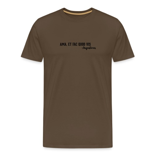 Agostino - Maglietta Premium da uomo
