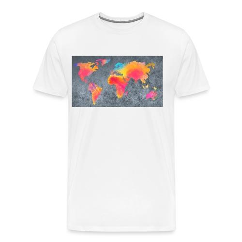 World 3 - Männer Premium T-Shirt
