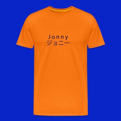 J o n n y (black) - Men's Premium T-Shirt
