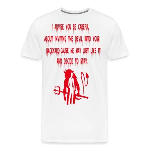 Devil! - Premium-T-shirt herr