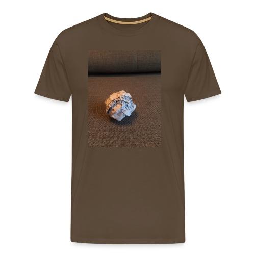 Jeg skal lave et projekt i billedkunst - Herre premium T-shirt