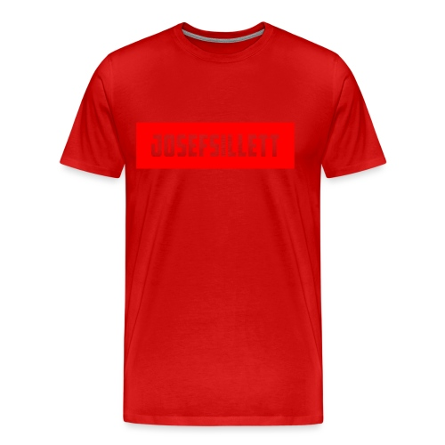 Josef Sillett Red - Men's Premium T-Shirt