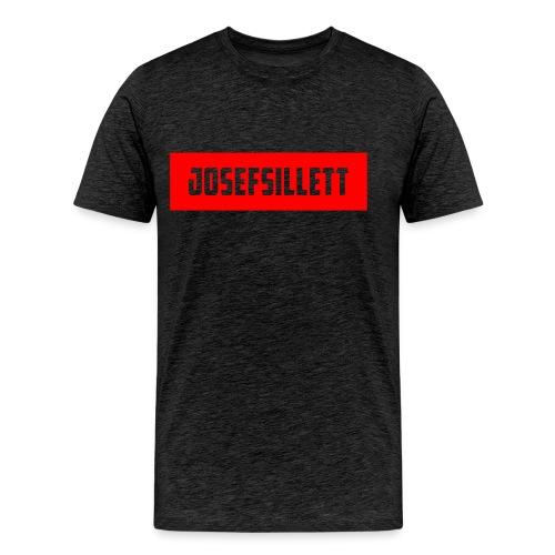 Josef Sillett Red - Men's Premium T-Shirt