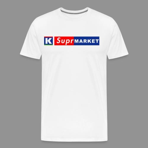 K-Suprmarket - Miesten premium t-paita