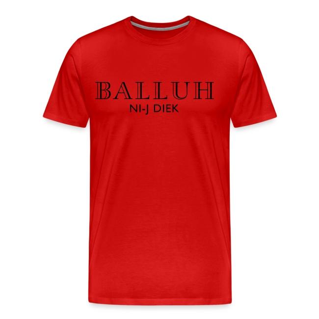 BALLUH NI-J DIEK - wit/zwart