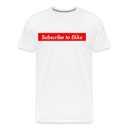 Subscribe to Ekke 2.0 - Premium-T-shirt herr