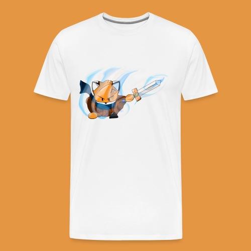 Flamme et épée - T-shirt Premium Homme