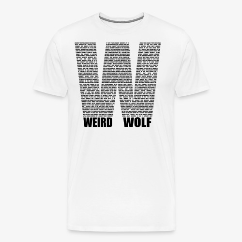 The Big W (Black) - Men's Premium T-Shirt
