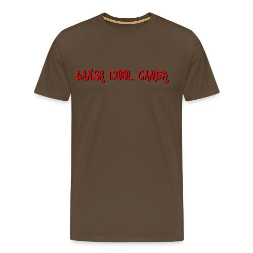 Dansk cool Gamer - Herre premium T-shirt