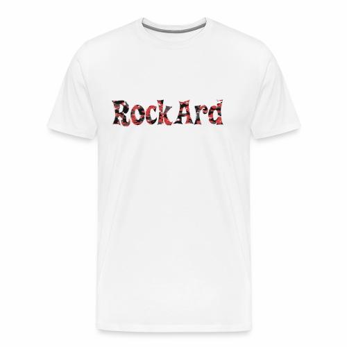 RockArdRedCamo - Men's Premium T-Shirt