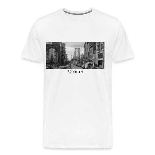 Brooklyn Casual Design - Männer Premium T-Shirt