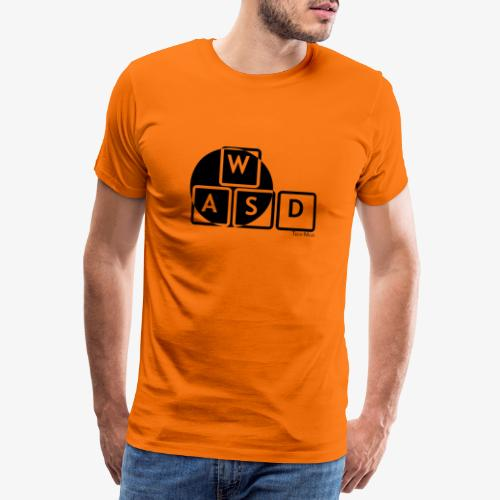WASD Gaming is Life - Men's Premium T-Shirt