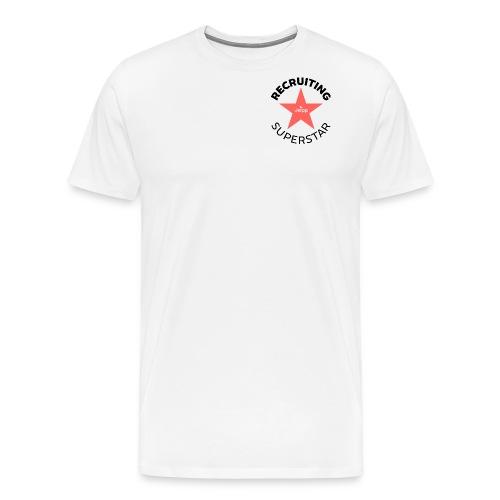 Recruiting Superstar - Miesten premium t-paita