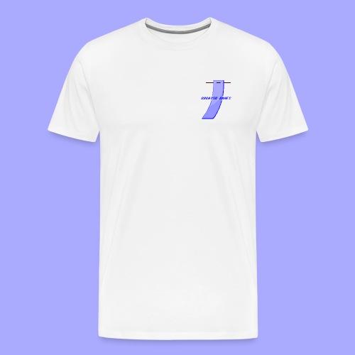 Gogatsu Games 8-bit - Herre premium T-shirt