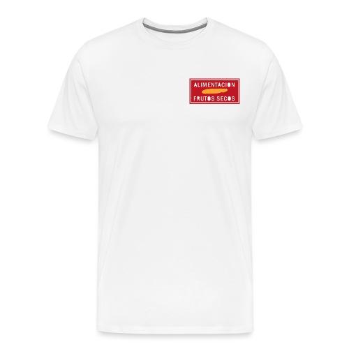 alimentacion cartel - Camiseta premium hombre