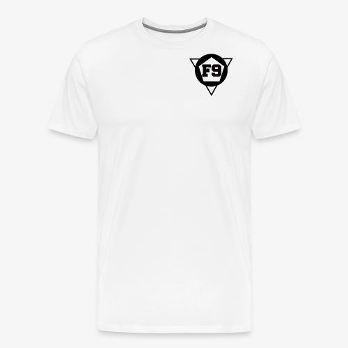 False 9 official logo png - Men's Premium T-Shirt