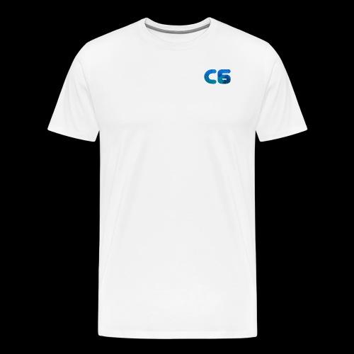 C6 Logo - Men's Premium T-Shirt