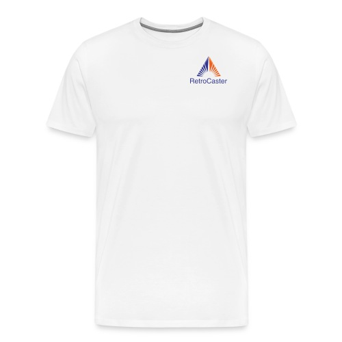RetroCaster YT Channel Logo - Men's Premium T-Shirt