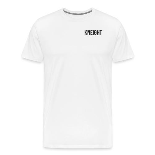 Brand KNEIGHT Logo - Herre premium T-shirt