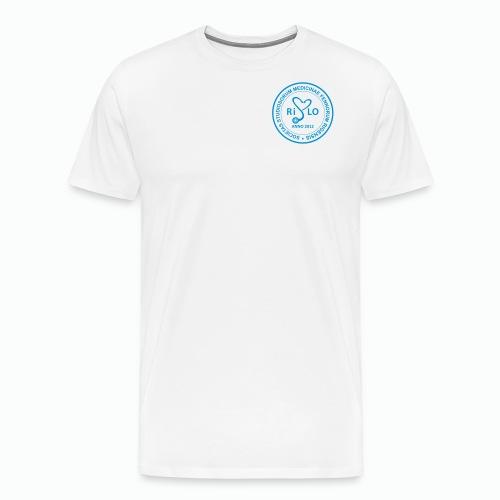 Rislo Logo - Miesten premium t-paita