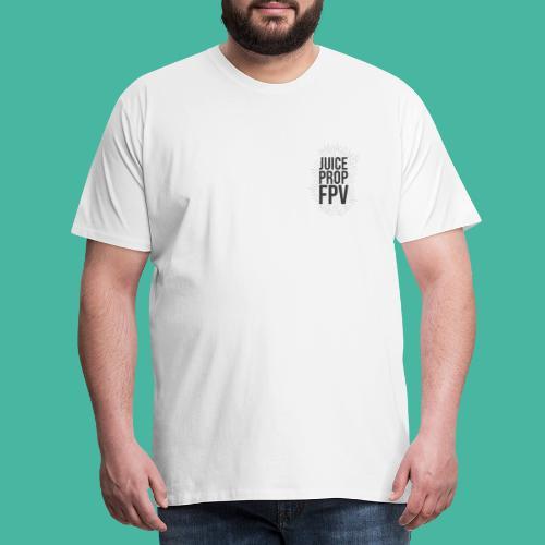 JuicePropFPV LOGO Pile Double sided - Männer Premium T-Shirt