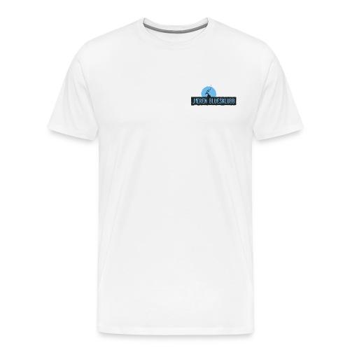 Logo jæren bluesklubb 500px png - Premium T-skjorte for menn