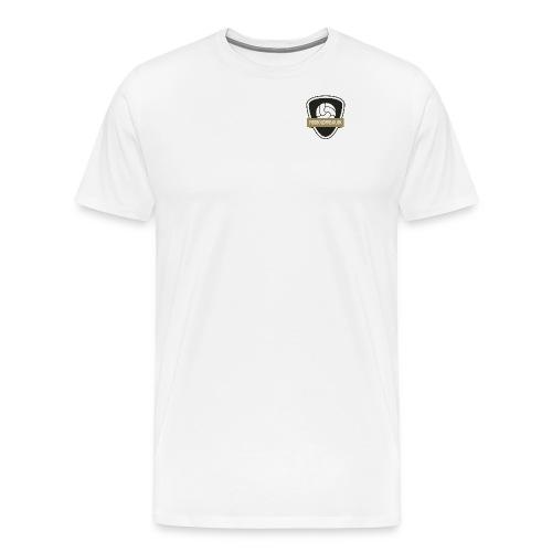 fodboldfreak logo - Herre premium T-shirt