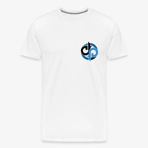 Diversity Blue and Black - Herre premium T-shirt