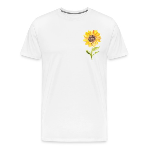 Sonnenblume Sunflower - Männer Premium T-Shirt