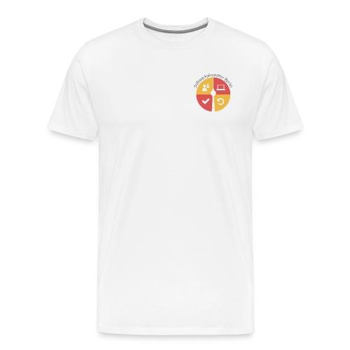 swk logo normal png - Men's Premium T-Shirt
