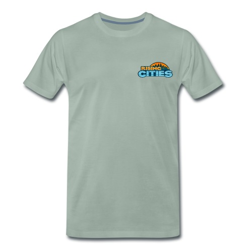 Rising Cities Logo - Männer Premium T-Shirt