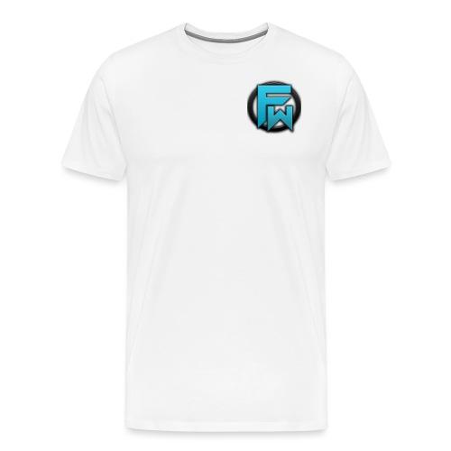 Fang Wolf Logo V2 - Men's Premium T-Shirt