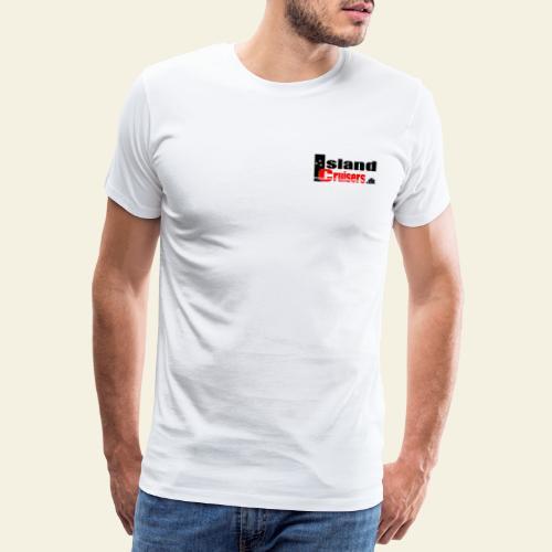 Island cruisers black - Herre premium T-shirt