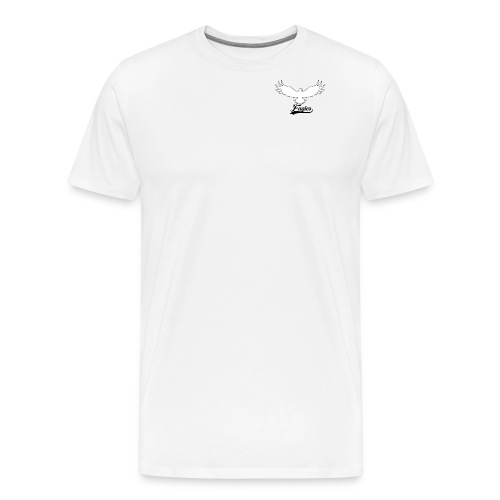 Eagles logo design - Men's Premium T-Shirt